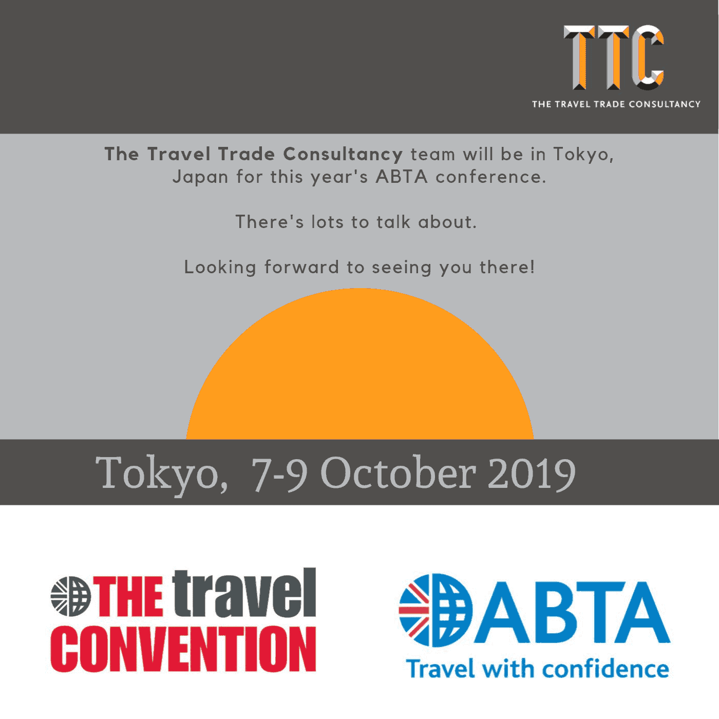 The TTC at the ABTA Travel Convention 2019